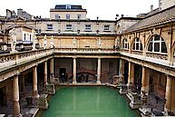 Roman baths - Photo CC Ann Lee